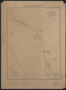 Itinéraire de Kita au Niger et à Kéniéra suivi par la colonne expéditionnaire commandée par le Lt Colonel Borgnis-Desbordes. Kita-Mourgoula