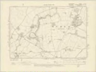 Staffordshire LXI.SW - OS Six-Inch Map