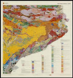Mapa geològic de Catalunya 1:250 000