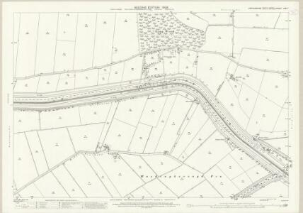 Lincolnshire LXXI.7 (includes: Branston and Mere; Fiskerton; Heighington) - 25 Inch Map