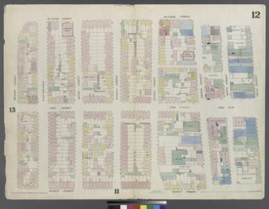 [Plate 12: Map bounded by Division Street, Rutgers Street, South Street, Market Street]