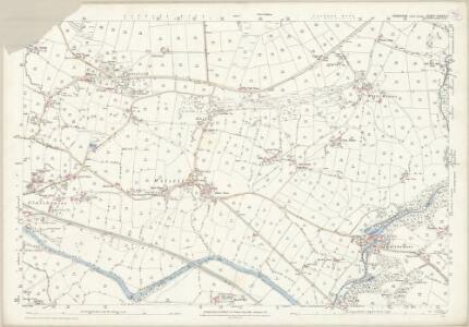 Yorkshire CXXXVI.4 (includes: Bishop Thornton; Markington With Wallerthwaite; Sawley; Warsill) - 25 Inch Map
