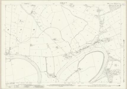 Durham LVII.3 (includes: Eryholme; Hurworth; Neasham) - 25 Inch Map