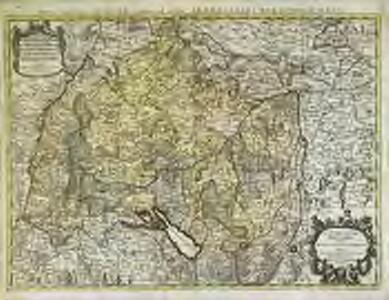 Le cercle de Souabe divisé en tous les estats qui le composent