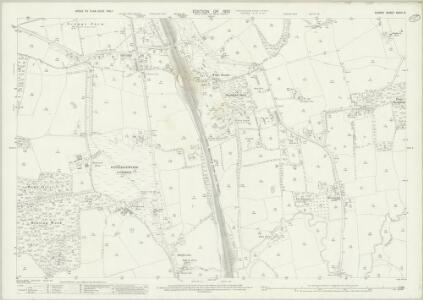 Surrey XXXIV.8 (includes: Horley; Reigate) - 25 Inch Map
