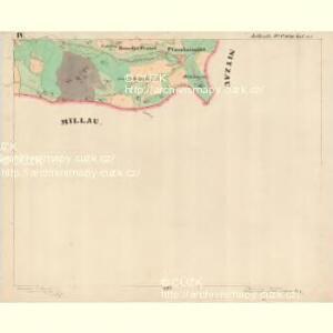 Jettenitz - c6707-1-004 - Kaiserpflichtexemplar der Landkarten des stabilen Katasters