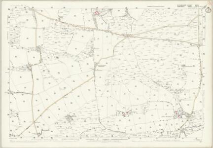 Devon XXIII.11 (includes: East Anstey; Knowstone; Oakford) - 25 Inch Map
