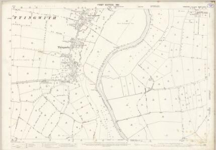 Yorkshire CCVII.2 (includes: Cottingwith; Ellerton; Thorganby) - 25 Inch Map