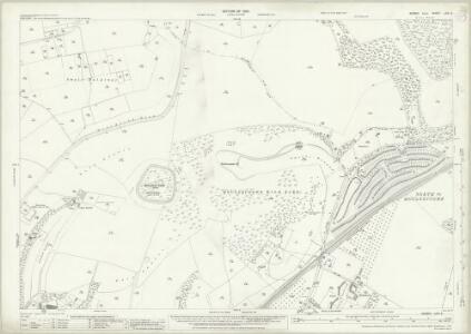 Sussex LXVI.2 (includes: Brighton; Falmer; Stanmer) - 25 Inch Map