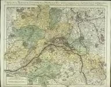 Carte de la Beauce du Gatinois de la Sologne et pays voisins compris dans la generalité d'Orleans