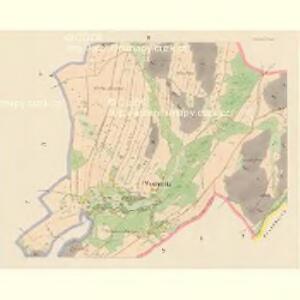 Woschetnitz (Wossetnice) - c5522-1-002 - Kaiserpflichtexemplar der Landkarten des stabilen Katasters