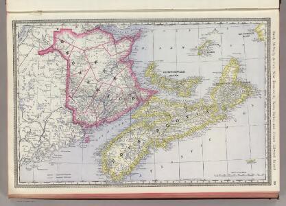 New Brunswick, Nova Scotia and Prince Edward Island.