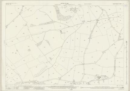 Leicestershire L.2 (includes: Foxton; Gumley; Laughton; Lubenham) - 25 Inch Map