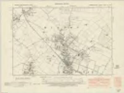 Cambridgeshire XL.NW - OS Six-Inch Map