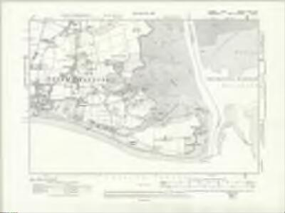 Sussex LXXII.NW - OS Six-Inch Map