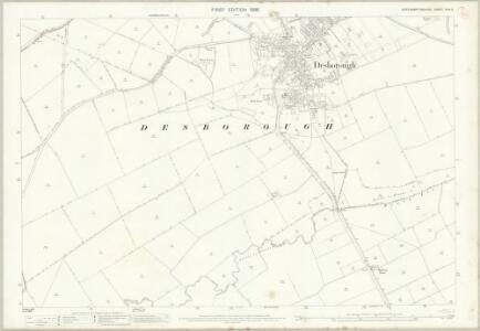 Northamptonshire XXIV.3 (includes: Desborough; Rothwell) - 25 Inch Map