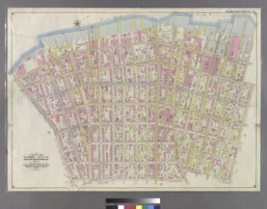 Part of Wards 13 & 14. Land Map Section, No. 8, Volume 1, Brooklyn Borough, New York City.