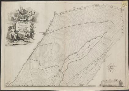 Landkaarte vande Binnen Polder van Slooten en het Middelvelt: groot 1775 morgen