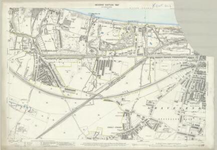Kent X.6 (includes: Gravesend; Northfleet) - 25 Inch Map