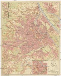 Verkehrsplan von Wien