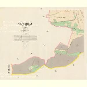 Czachrau (Czachrow) - c0783-1-003 - Kaiserpflichtexemplar der Landkarten des stabilen Katasters