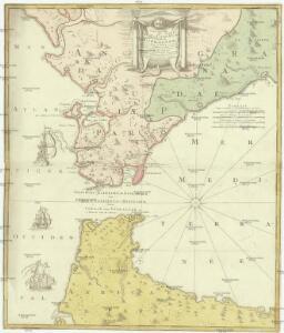 Carte nouvelle de l'Isle de Cadix & du Detroit de Gibraltar