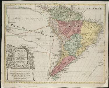 America Meridionalis concinata juxta observationes Dun Acad. Regalis Scientiarum et nonnullorum aliorum