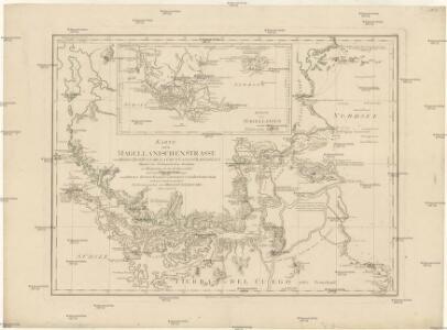 Karte der Magellanischen Strasse