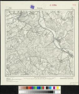 Messtischblatt 2581 : Neheim, 1926 Neheim