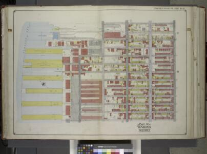 Brooklyn, Vol. 1, Double Page Plate No. 8; Part of Ward 8, Section 3; [Map bounded by 2nd Ave., 37th St., 5th Ave., 49th St., Gowanus Bay] / by and under the direction of Hugo Ullitz.