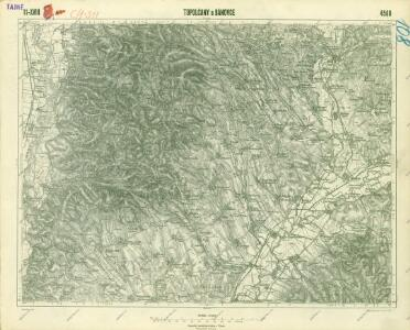 III. vojenské mapování 4560