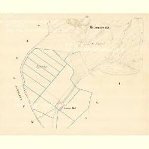 Mczenowitz - m1901-1-003 - Kaiserpflichtexemplar der Landkarten des stabilen Katasters