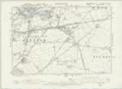 Northumberland XCVIII.SW - OS Six-Inch Map