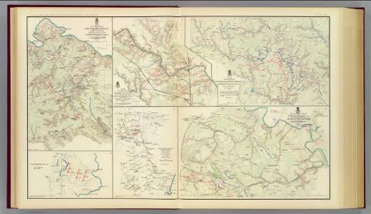 The Wilderness, N. Anna, Spotsylvania C.H., Totopotomoy.
