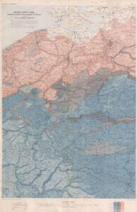 Water supply Map of France and Belgium