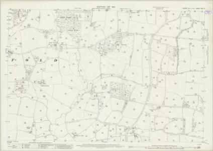 Sussex XXV.14 (includes: Cowfold) - 25 Inch Map