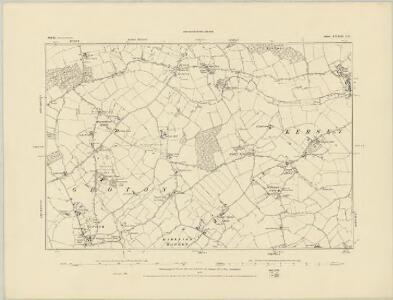 Suffolk LXXIII.SW - OS Six-Inch Map