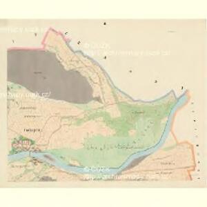 Tschepitz - c0853-1-002 - Kaiserpflichtexemplar der Landkarten des stabilen Katasters