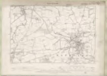 Linlithgowshire Sheet IX. NW - OS 6 Inch map