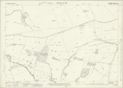 Berkshire XXV.6 (includes: Baydon; Lambourn) - 25 Inch Map