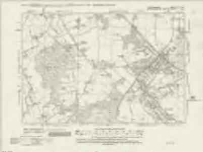 Hertfordshire XLIII.NW - OS Six-Inch Map