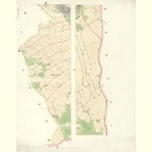 Hohenörlitz (Orlice) - c8850-1-002 - Kaiserpflichtexemplar der Landkarten des stabilen Katasters