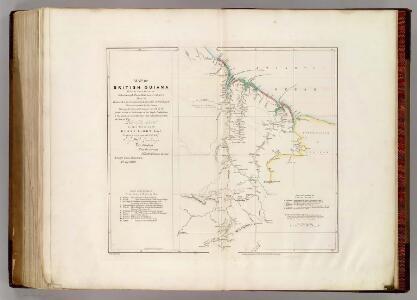 Map of British Guiana.