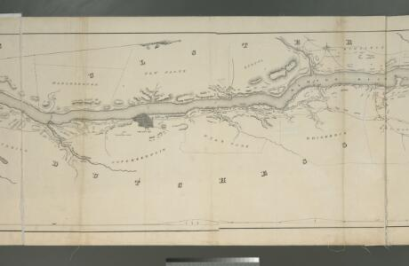 Map of the Hudson River Rail Road from New York to Albany / engraved by Robt. Haering, N.Y. ; W.C. Moore, del.