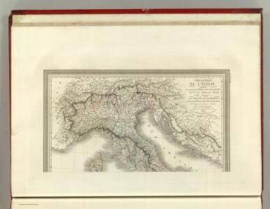 Carte Generale de L'Italie.