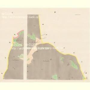 Tieschin (Tessin) - c7893-1-002 - Kaiserpflichtexemplar der Landkarten des stabilen Katasters