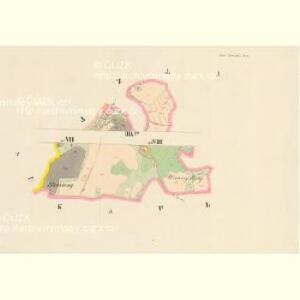 Gross Poreschin - c6026-1-009 - Kaiserpflichtexemplar der Landkarten des stabilen Katasters