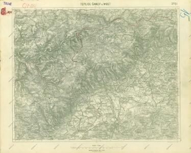 III. vojenské mapování 3751