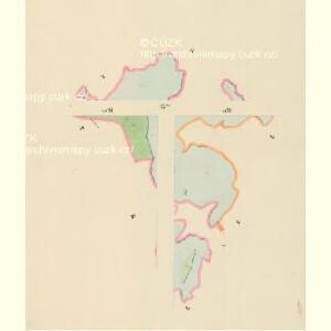 Lomnitz - c4219-1-012 - Kaiserpflichtexemplar der Landkarten des stabilen Katasters