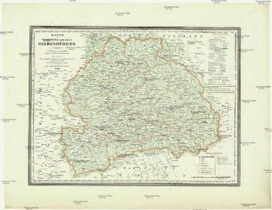Karte des Grossfürstenthumes Siebenbürgen